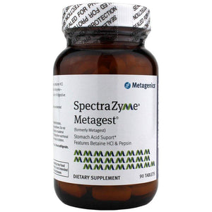 SpectraZyme Metagest 90 tablets