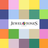 Jewel Tones - Cot Bottom Sheet 115cm