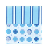 100% Cotton - Floor Mat Sheets Blue