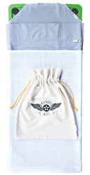 Jewel Pack - Stellar Natural - Plain sheets + logo calico bag + cotton blanket