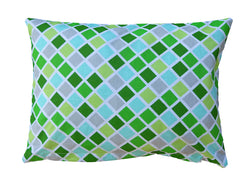 100% Cotton Pillow Green