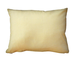 100% Cotton Pillow Yellow
