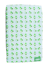 100% Cotton - Cot Sheets Green