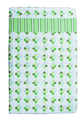 100% Cotton - Floor Mat Sheets Green