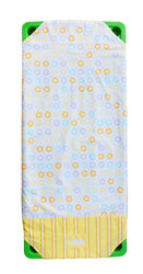 Last Chance - Stacker Sheets 100% Cotton Yellow 145cm