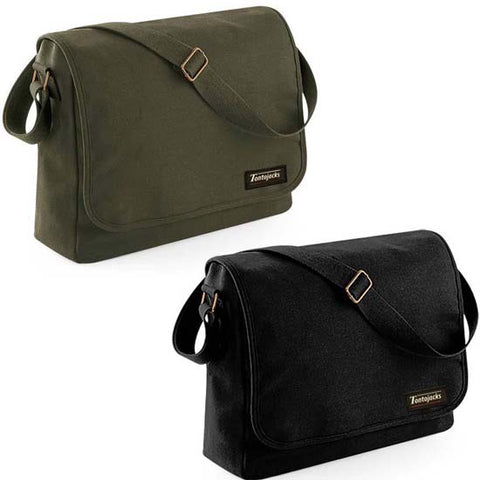 Tontojacks Canvas Messenger Bags