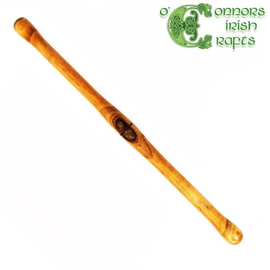 O'Connors Irish Bodhran Tipper Beater Stick Hazel Wood Stained
