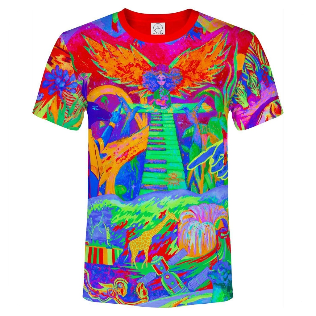 Neon Element T Shirt Glow in UV Fluorescent Ulia And Team ts6
