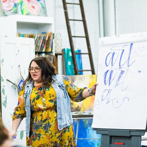 Introduction to Hand Lettering (Original Script) - Quad Cities - August 17