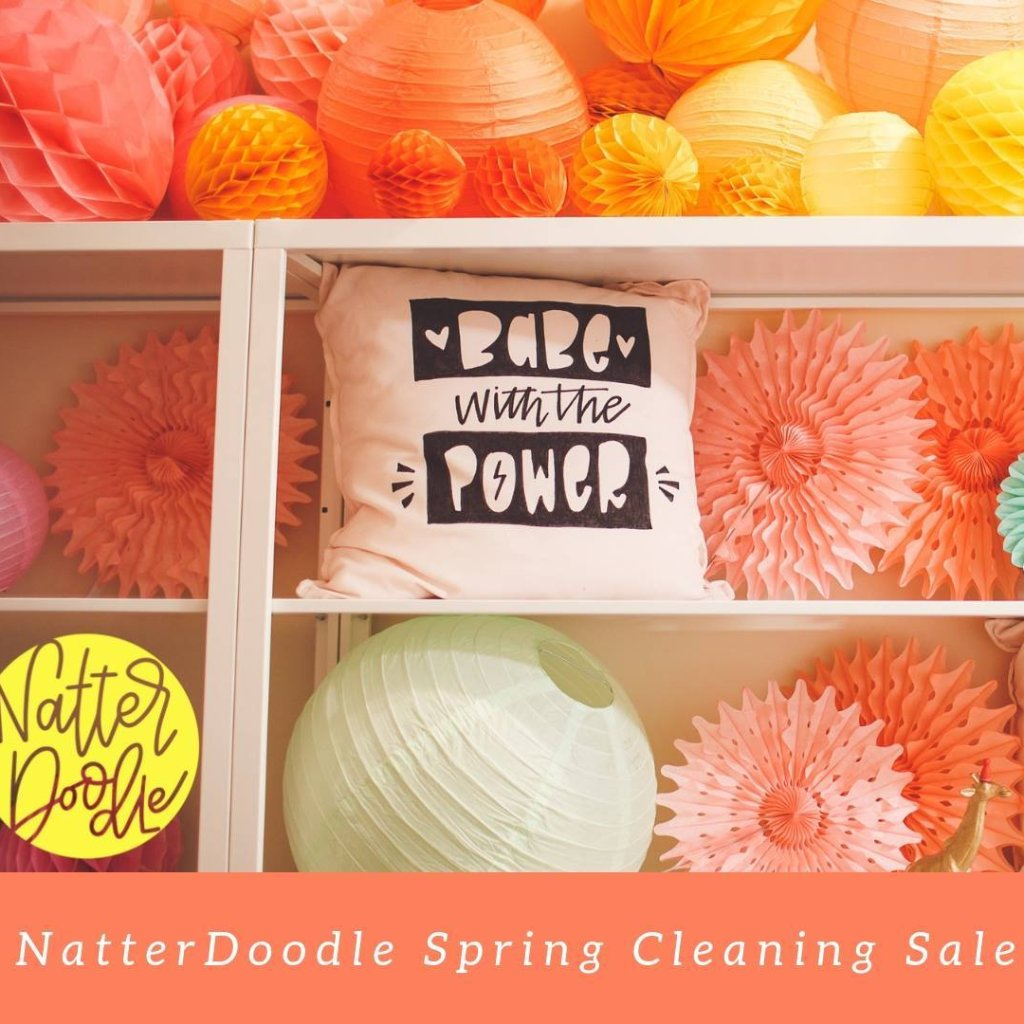 NatterDoodle Spring Cleaning Sale - May 11