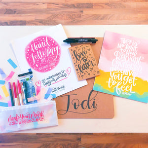 Introduction to Hand Lettering (Original Script) - Austin - July 25