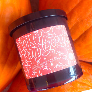 Hello, Gourdgeous Candle