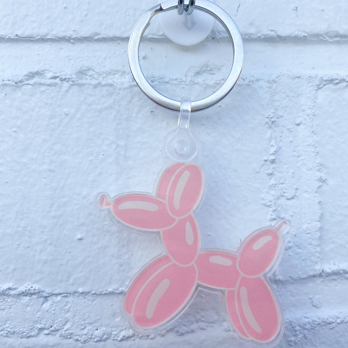 Poppin' Balloon Dog Keychain