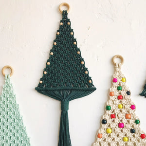 Macrame Christmas Trees with Sarah Harste - Columbus - December 2