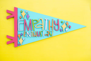 Virtual Hand Lettered Pennants Workshop + Video Replay