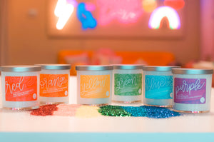 Over the Rainbow Candle Set