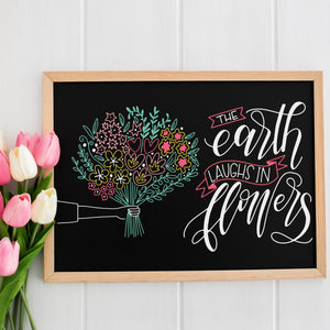 Hand Lettered Chalkboards Workshop - Spring Edition - April 26