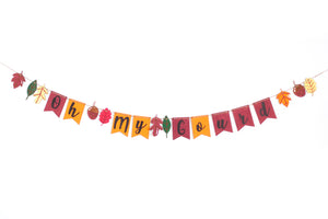 Fall Hand Lettered Banner DIY Kit: September Edition