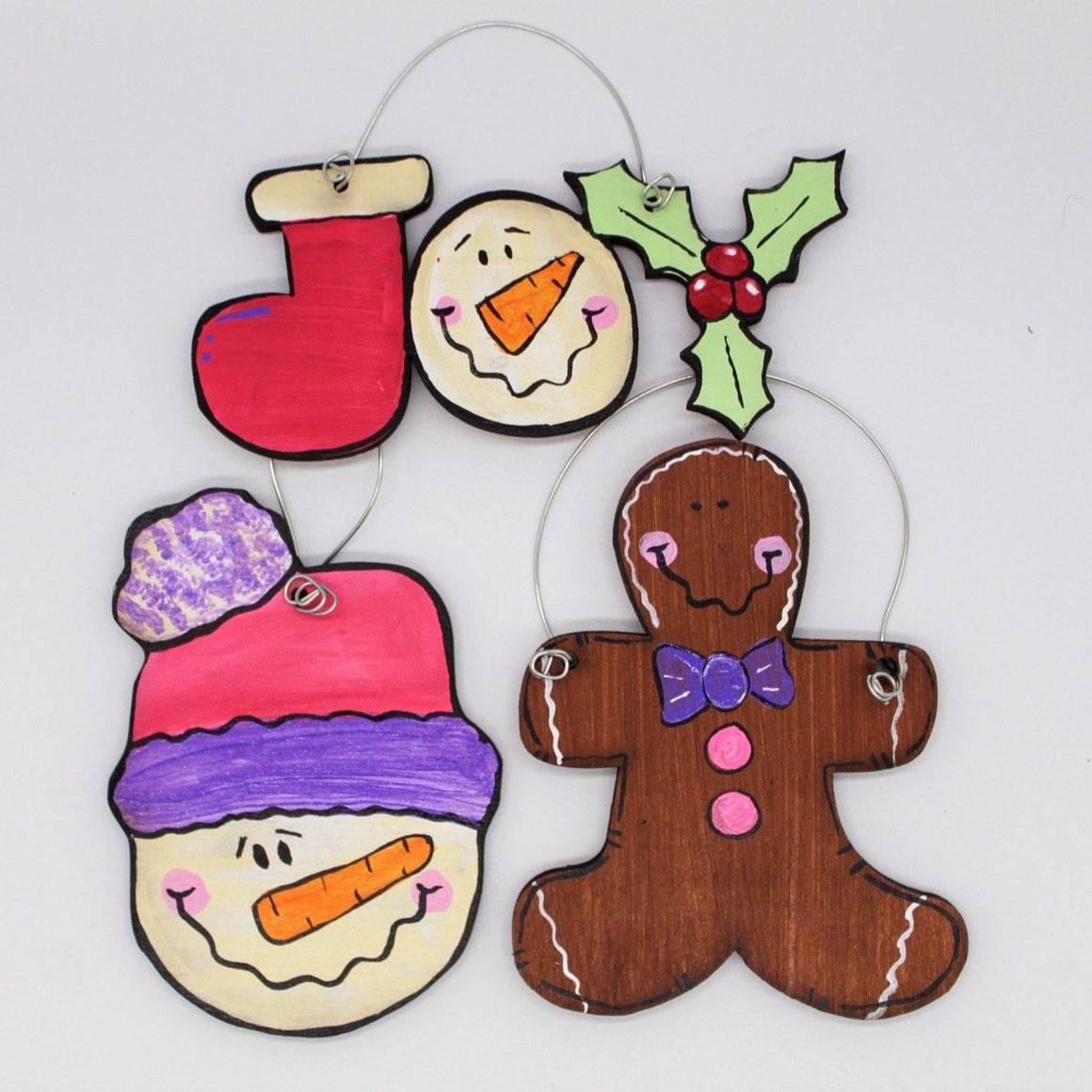 Hand Painted Ornaments with Just Real Woodcrafts - Columbus - November 20