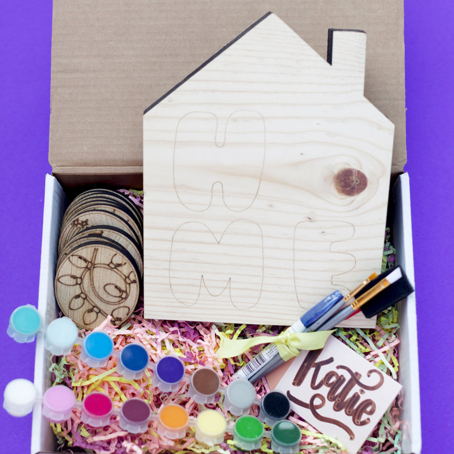 Interchangeable Home Sign Kit + Virtual Workshop - September 24