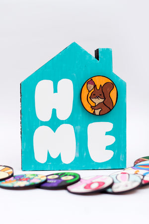Interchangeable Home Sign Kit + Video Replay