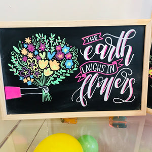 Chalk it Up! Hand Lettered Chalkboards - Toledo, OH - May 2