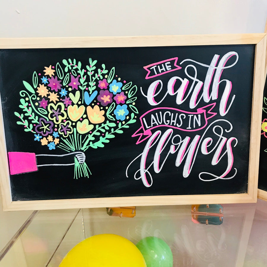 Hand Lettered Chalkboards - Summer Edition - Columbus - May 19