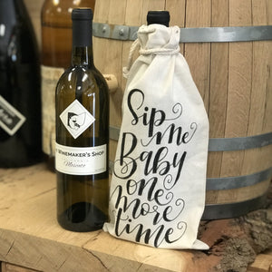 Hand Lettered Wine Bags Kit + Virtual Workshop