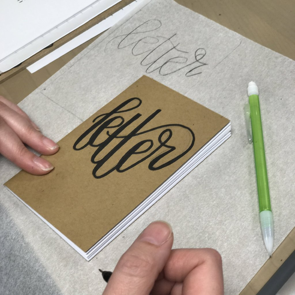 Intro to Hand Lettering (Original Script) - Columbus - April 15