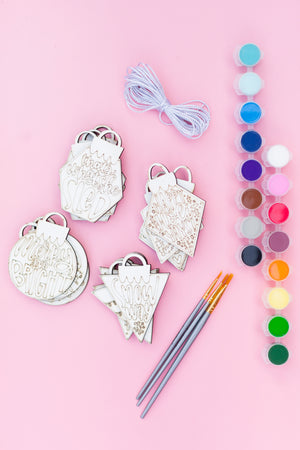Painted Ornament Kit + Virtual Workshop Seasonal Showstoppers Edition - December 14