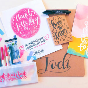 Introduction to Hand Lettering Workshop (Original Script) - O'Fallon, IL - October 27