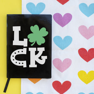 St. Patrick's Day Hand Lettered Notebook Kit + Virtual Workshop - March 17