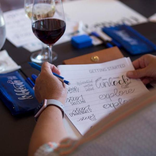 Introduction to Hand Lettering (Le Meridien Script) - Columbus - April 29