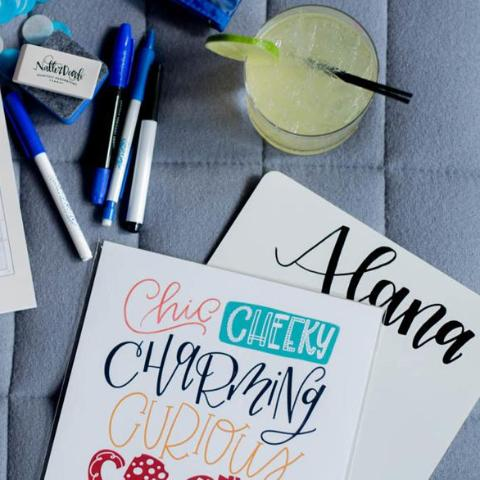 Introduction to Hand Lettering (Le Meridien Script) - Columbus - March 25