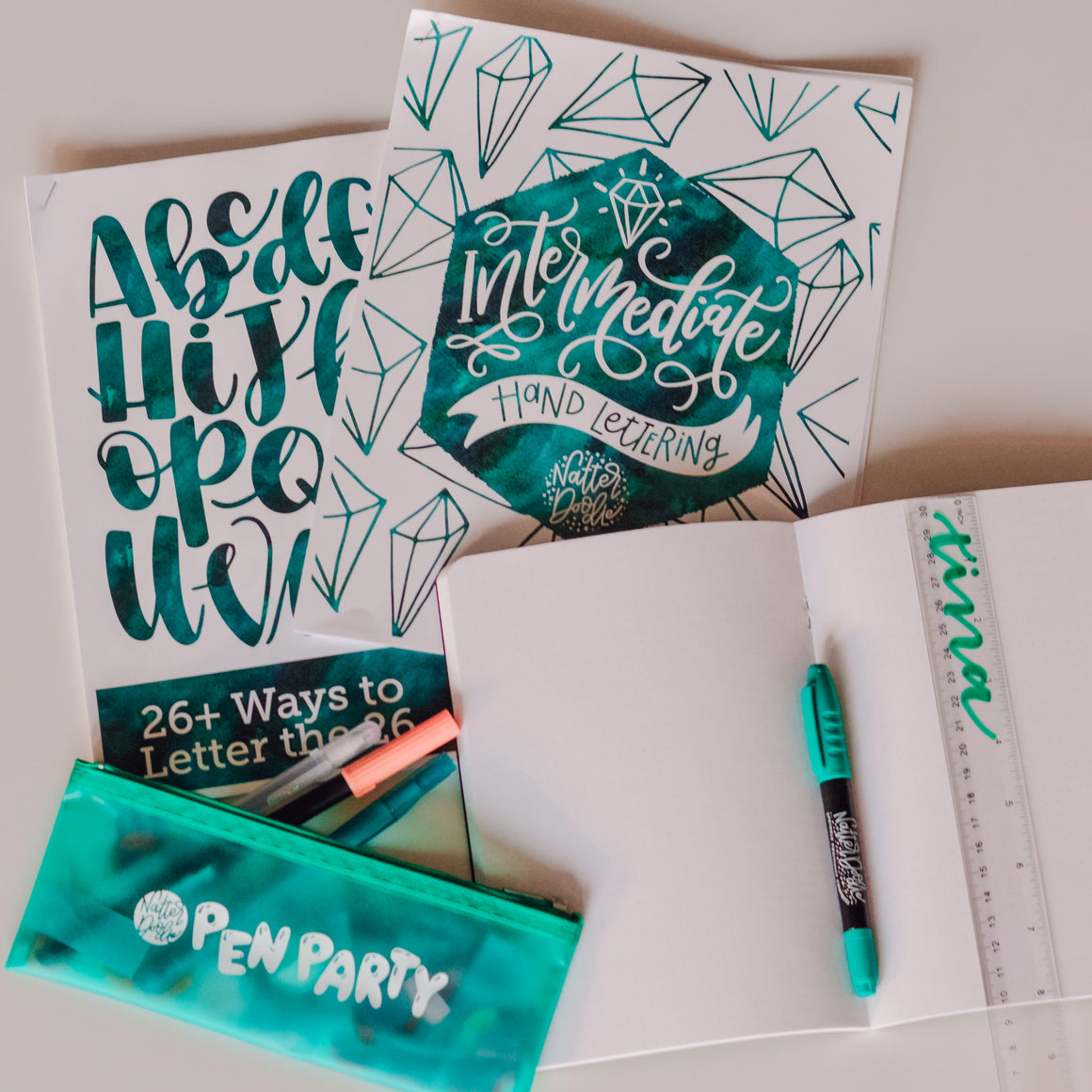 Virtual Intermediate Hand Lettering Workshop - July 20