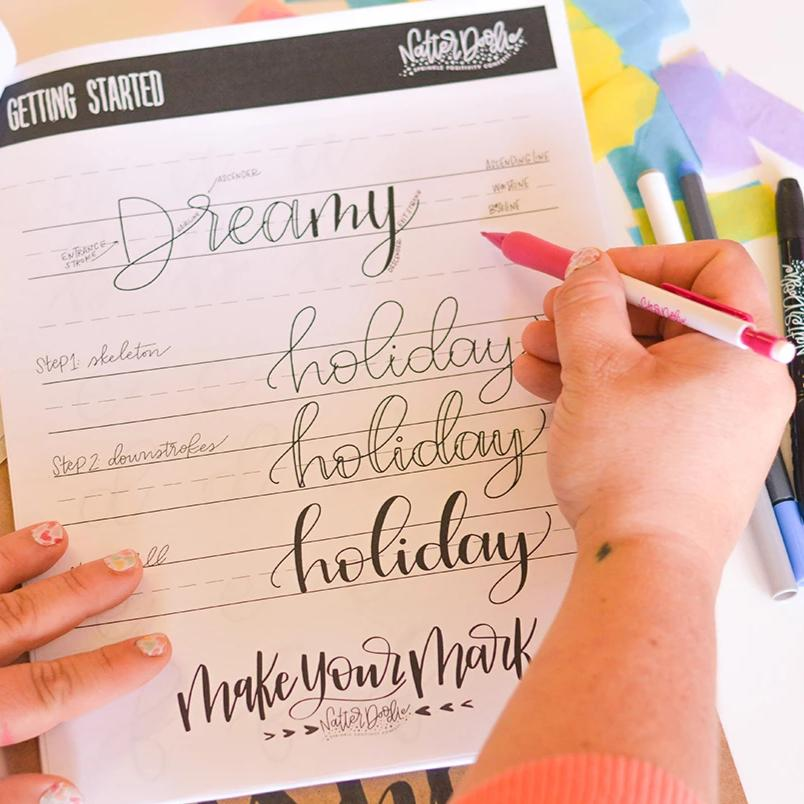Intro to Hand Lettering (Original Script) - Akron - May 8