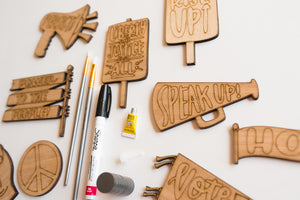 Virtual Hand Painted Activism Magnets Kit + Video Replay