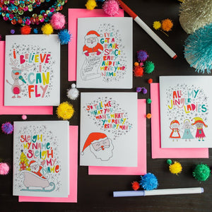 Holiday Hits Greeting Card Set of 10