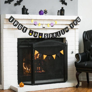 Halloween Hand Lettered Banner DIY Kit + Virtual Workshop: I Put A Spell On You Edition - September 28