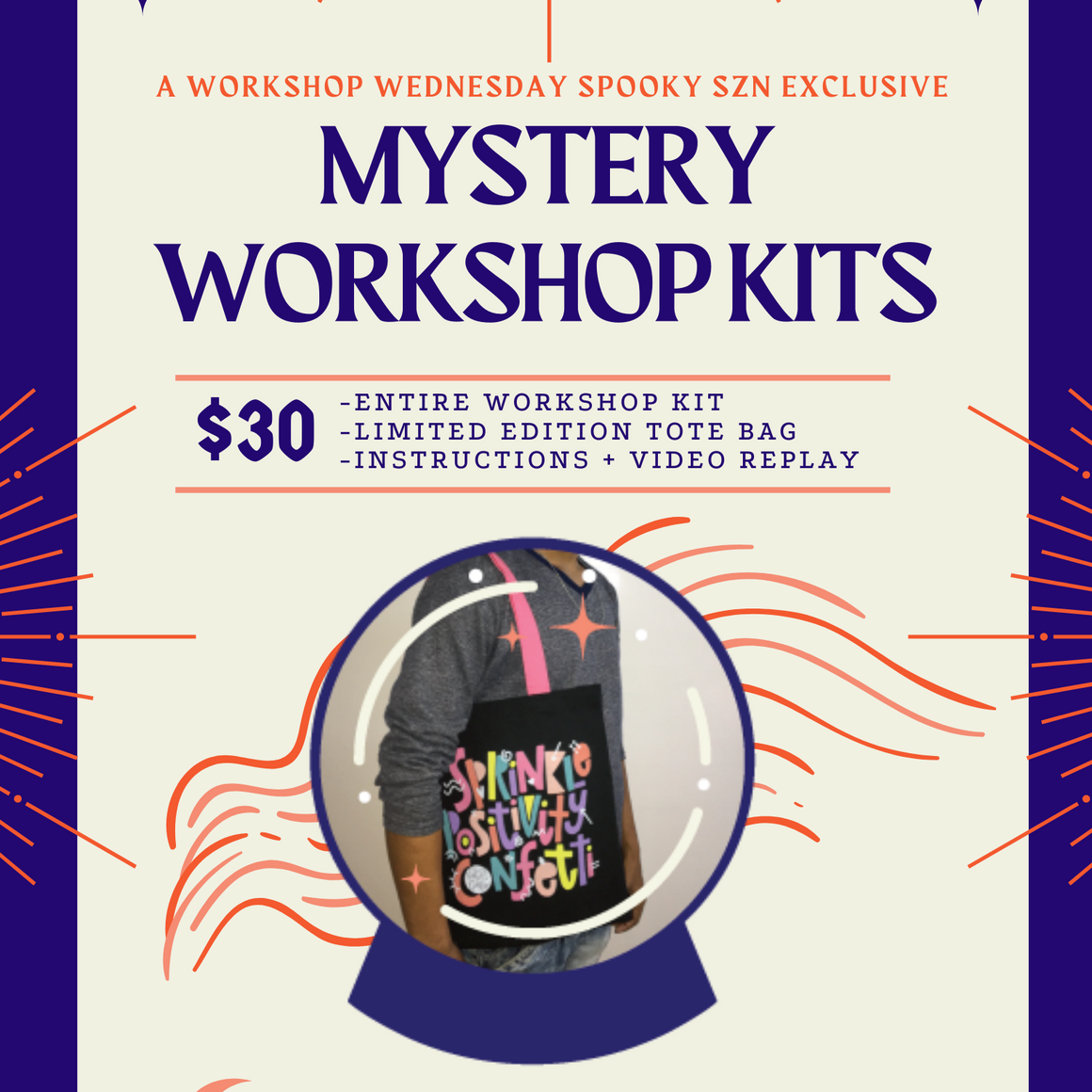 Mystery DIY Workshop Kit + Limited Edition Tote