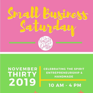 Small Business Saturday Party - November 30