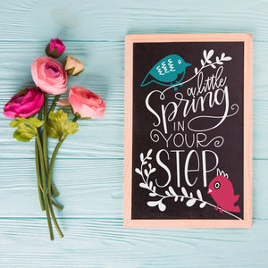 DIY Chalk Lettering Take Home Kit + Online Party!