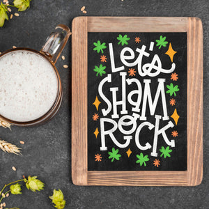 Virtual Hand Lettered Chalkboards Workshop - St. Patrick's Day Edition - March 3