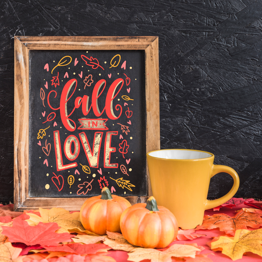 Chalk Lettering Kit + Virtual Workshop - Autumn Edition - August 20