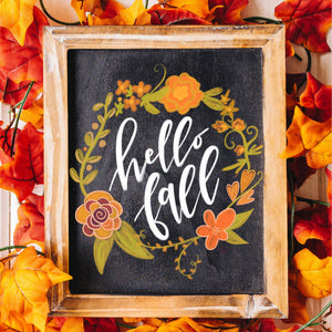 Chalk Lettering Kit + Video Replay - Autumn Edition