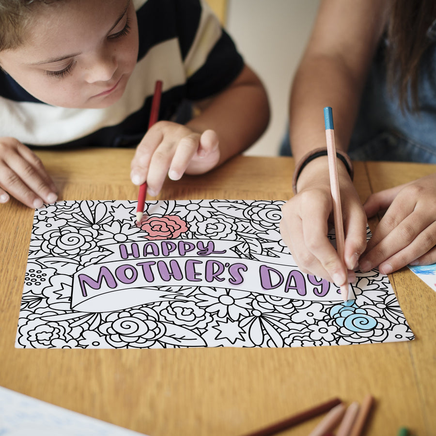 Mother's Day & Spring Coloring Pages