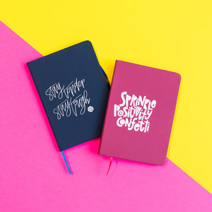 DIY Hand Lettered Notebook Kit + Virtual Workshop