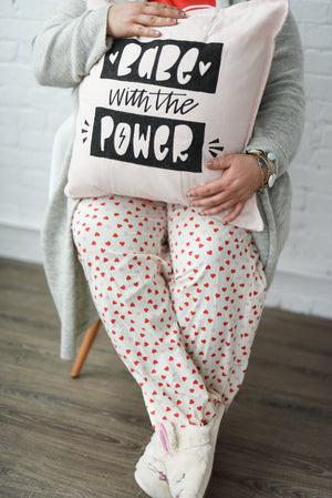Girl Power Pillow Penmanship Workshop - February 10