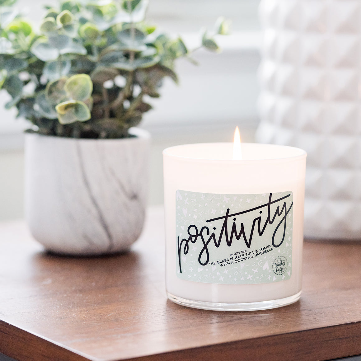 Positivity Candle