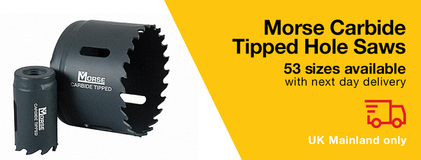 Morse Tungsten Carbide Tipped (TCT) Hole Saws